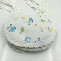 baby eating accessories - 2016 Baby Bibs Waterproof Saliva Towels Cotton Newborn Eating Burp Clothes Infant Cartoon Soft Baby Accessories Babador
