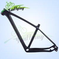 mtb bike frame - 2016 er T800 Carbon Mountain Bike Frames er Mtb Bicycle Frames k Finish pf30 thru axle and quick release exchanged carbon mtb frame