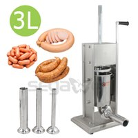 Wholesale Vertical Commercial Two Speed Sausage Stuffer L Stainless Steel Meat Press