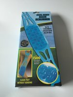 Wholesale Dual Sided Back Scrubber for Skin Health Cleaning Long Handle Soft Chopping Belt
