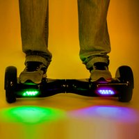 Wholesale UL Certified Hoverboard LED Light Electric Scooter Tires Wheel Self Balancing Scooters CE FCC UL Charger Mobility Skateboard