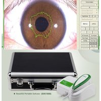Wholesale 5 Mega Pixels USB Iriscope Skin USB Out x Iris Lens and x Skin Lens with Pro Softwarewith Green