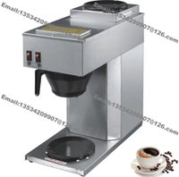 Wholesale 1 L Cup Stainless Steel Cafe Shop Home Restaurant Office American Style Coffee Maker Machine