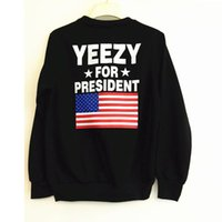 active women images - Kanye West Christian Hoodie American Flag Print this image without a hat Cotton T shirt Women s T shirt Hoodie Stock