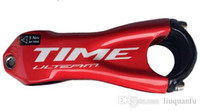 carbon - 2015 new time T1000 ud black carbon road handlebar stem road bicycle bicicleta part black white red color