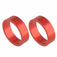 alloy headset spacers - High Quality Red Alumnium Alloy Headset Fork Stem Spacers Gasket Washer for Rode Bike Bicycle