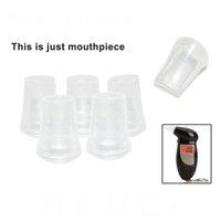 Gros-50pcs / lot Ethylotest numérique ivressomètre Becs Blowing Buse pour porte-clés alcool testeur Becs