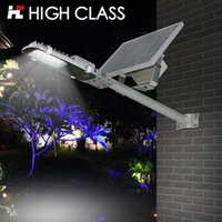 backyard solar lighting - High Class Waterproof Rainproof IP65 W LED Solar Light Street Lamp for Backyard Garden Park Road Lighting
