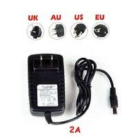 Wholesale Adapter A A A A A A Power Supply AC100 V To DC12V Charger Transformer RGB LED Strip EU US AU UK Plug