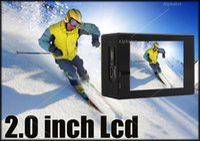 Wholesale F60 Sports Camera K FPS Ultra HD DV MP WiFi Mini Cam Go M Waterproof Pro Action camera Beyond HERO PK SJ5000