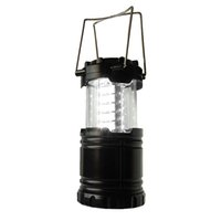 Wholesale Camping Tent Lighting - Outdoor Sport Portable Camping Hiking Fishing Tackle Tourist Telescopic 30 LED Lantern Tent Lamp Light 2016 New Arrival 2503057