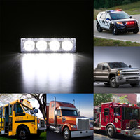 Wholesale Auto Led Light LEDs W Law Enforcement Emergency Hazard Warning Flashing Car SUV Truck Vehicle Construction LED Top Roof Mini Bar Strobe L