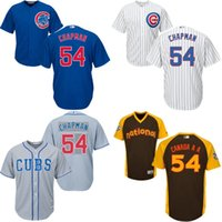 aroldis chapman - Grey Aroldis Chapman Authentic Jersey youth Chicago Cubs Cool Base Alternate Road