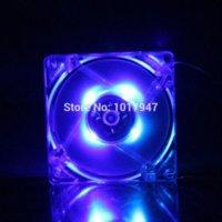 amd sale - GDT Blue LED PC Computer Case Cooler Cooling Fan mm x25mm S DC V Heatsink P HOT SALE LED Cooler Fan