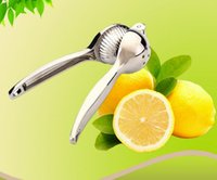 Wholesale HOT SALE Stainless steel manual juicer Baby Baby pressure juice machine Food squeeze lemon thickened orange folder outlets