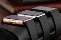 Wholesale GT08 Bluetooth Smart Watch wearable devices Support SIM TF Card Smartwatch For apple Android OS phone