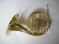best french music - best music NEW key Double French Horn Gold Lacquer F Bb Brass body with case in stock