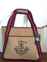 Wholesale New Fashion Bag Canvas Handbag Large Capacity Bag Female Bag Tote Sac Casual Bag Camel Bag Shoulder Bag