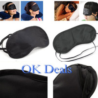 Wholesale High Quality Hard Caseck EYE MASK Sleep Blindfold Sleeping Eyemask Masks Travel Rest Eye Mask Soft Eye Mask Shade Nap Cover