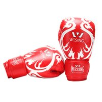 Wholesale Webetop Kids Boxing Gloves Junior MMA Training Muay Thai Mitts Spray Type