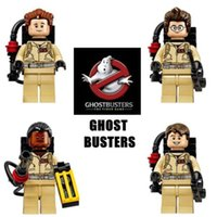 Wholesale 4 MiniFigures Ghost Busters Building Toys Ramond Si Tanzi Winston Zeddemore