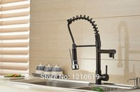 Wholesale New US Oil Rubbed Bronze Kitchen Spring Basin Faucet Sink Mixer Tap Single Hole