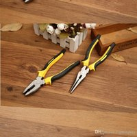 Wholesale Large Inch Tweezers Include Flat Nose And Long Nose Crimping Tool Multi Tool Herramientas