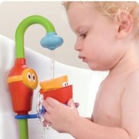 baby shower jars - Hot Sale Favorite baby bath toys play taps buttressed music spray shower electronic spray water HT035