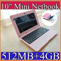 Wholesale laptop inch Dual Core Mini Laptop Android VIA Cortex A9 GHZ HDMI WIFI MB GB Mini Netbook C BJ