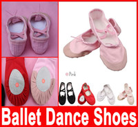 Wholesale Professional Ballet pointe Dance Shoes for Girls Boys and Adult Ladies with ribbons shoes Soft Comfortable Size Hot