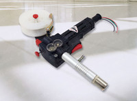 aluminum spool gun - 200A MIG Spool Gun Push Pull Feeder Aluminum Welding Torch without Cable DIY Free mm Tip