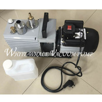air water separator - Direct two stage rotary vane air vacuum pump suction pump XZ for OCA Laminating and LCD screen separator