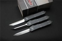 Wholesale Microtech Ultratech folding Knife Blade Cr13Mov Handle T6Aluminum Outdoor camping survival Tactical knives