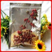 al foods - 100pcs cm cm mic High Quality Clear AL Foil Ziplock Bags Snack Food Bag Phone Packaging Organza Bag