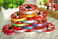 Wholesale Packaging Tools Price Solid Color cm Width Ribbon DIY Wrapping For Ballon Flower Giftbox