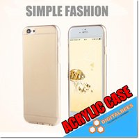 apple clearance - Acrylic Slim Clear Case For Iphone Plus Highly Clearance Samsung S7 Edge ON5 TPU Edge mm Thin Transparent Matt Phone Case