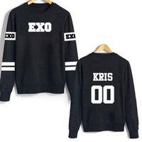Wholesale new shelves Lu HanWu Yifan EXO O Neck Man woman Wei clothing cotton Hoodies Sweatshirts neutral sportswear coat