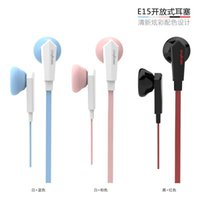 apple mobile applications - In Europe where OV E15 plugs with wheat noodles bass Headset Apple Samsung millet mobile phone application