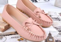 artificial muscles - 2015 new Artificial PU casual shoes womens Pink ladies shoes Cow Muscle Festival bordered women