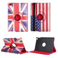 american dust covers - iPad Pro Case Tables American National Flag Detachable Rotating TPU Leather Stand Flip Case Smart Cover Dust proof ShockProof