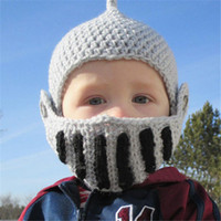 baby photo set - crochet Baby Kids House Riding Hats Knitted Toddler Boy Winter Beanie Cap Crochet Infant Boy Photo Props Set