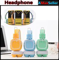 JKR-112 sur oreille écouteurs casque écouteurs circumaural mains libres pour SAMSUNG HTC Iphone LG SONY MP3 MP4 PC avec boîte de vente au détail en gros