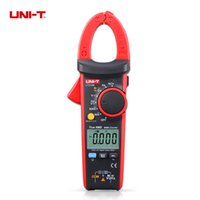 Wholesale UNI T UT216B LCD Display A True RMS Digital Clamp Meters Auto Range w NCV V F C amp Frequency Current Clamp Tester
