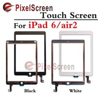 Wholesale Original Black White For ipad For iPad Air Air2 Touch Screen Digitizer Touch Glass With Home Button