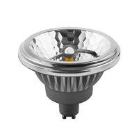 AR111 LED lampe 15w remplacer 75W halogène G53 12V, CREE COB LED, 80Ra 24pcs / lot, CE RoHS, Fedex / DHL libre ES111 LED
