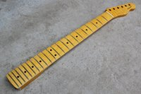 Wholesale The fire eagle tiger stripes maple xylophone Tele model electric guitar neck Retro Huang Qin neck