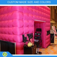 Wholesale latest wedding decoration x8x8ft inflatable photo booth enclosure
