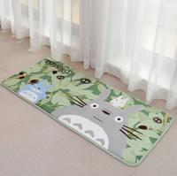 Wholesale Kawaii CM TOTORO Bedroom Floor Mat Pad Doormats BABY Kid Play Home Floor MAT Carpet Room Indoor Rug Mat
