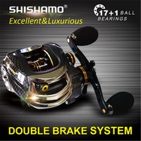 bait and tackle - Japan Technology Baitcasting Fishing Reel Dual Break System Centrifugal and Magnetic Brake BB Match For Any Bait casting Rod fish tackle