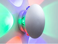 artistic wall sconces - Modern High Power W Flower Swan LED Decoration Sconce Wall Light Colorful Artistic wall sconce with spring colors Bedside Lamp Aisle
